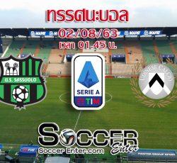 Sassuolo-Udinese