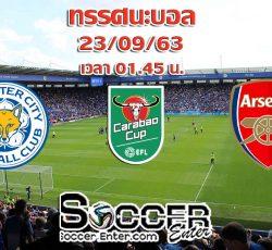 Leicester-Arsenal(Carabao)