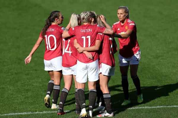ManU women team